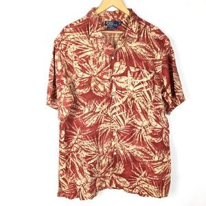 Vintage polo Ralph Lauren mens button up shirt